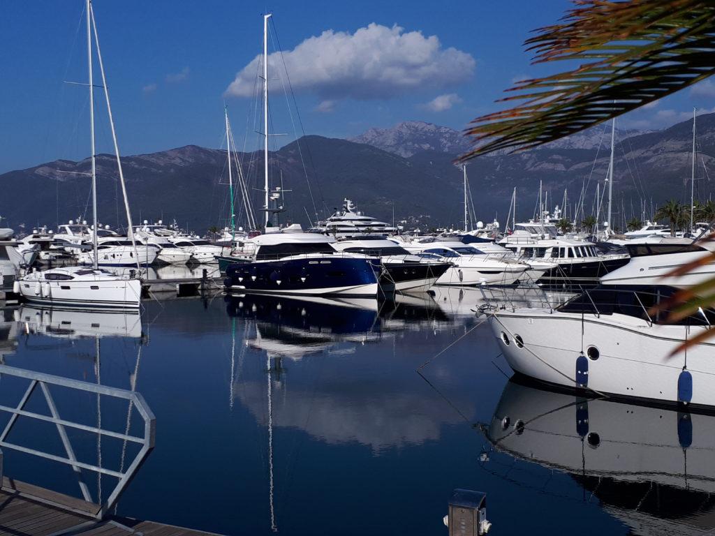 Porto Montenegro, a superyacht marina.